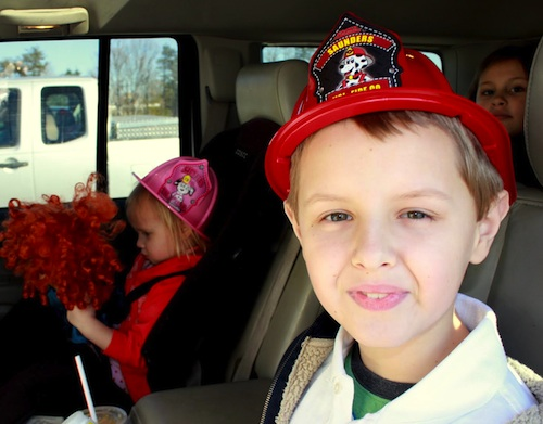 Field trip to Saunders Vol Fire Dept, Bedford, VA